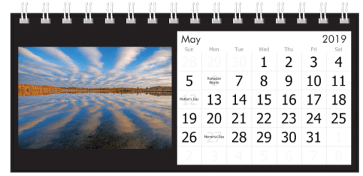 May 2019 Cloudy Reflections