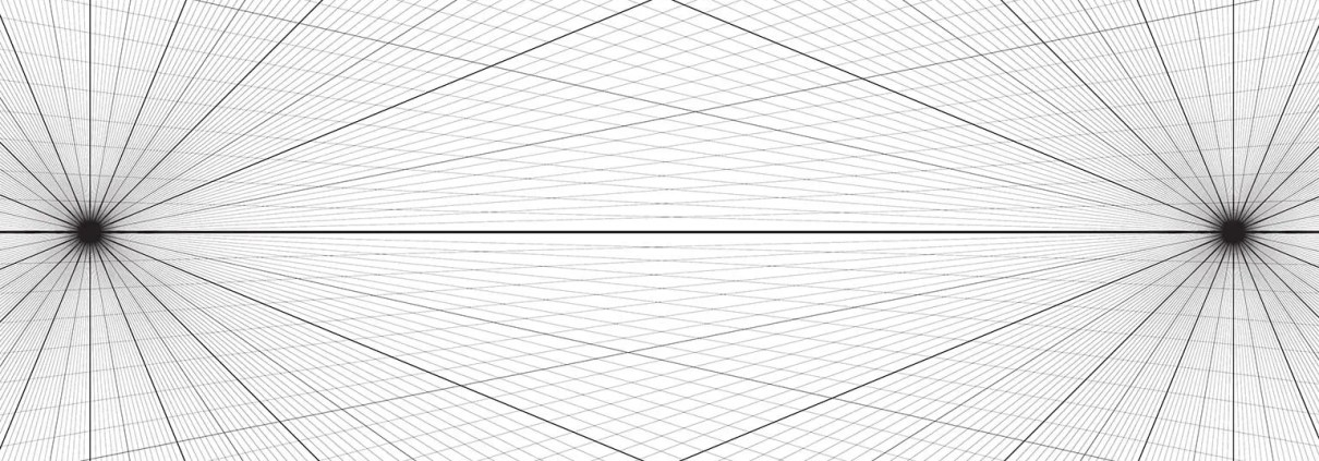 2 Point Perspective Grid Free Download by Adam Miconi
