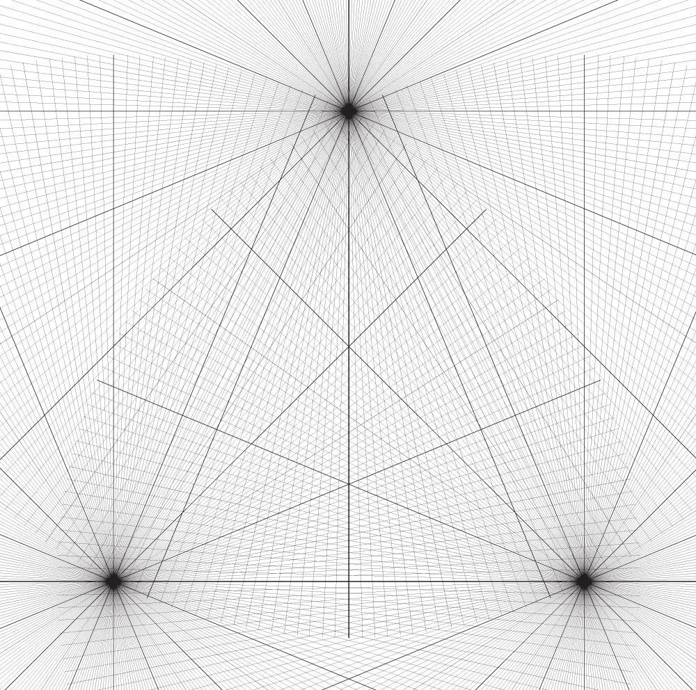 3 Point Perspective Grid Free Download by Adam Miconi