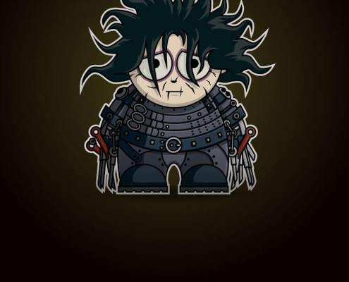 Edward Scissorhands by Adam Miconi