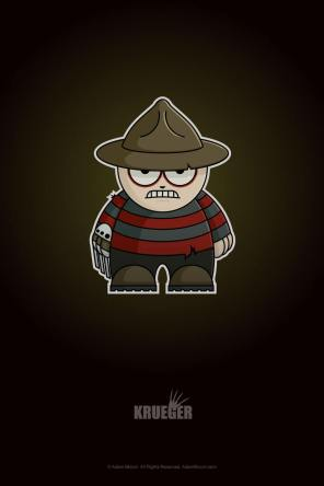 Freddy Krueger Chibi by Adam Miconi