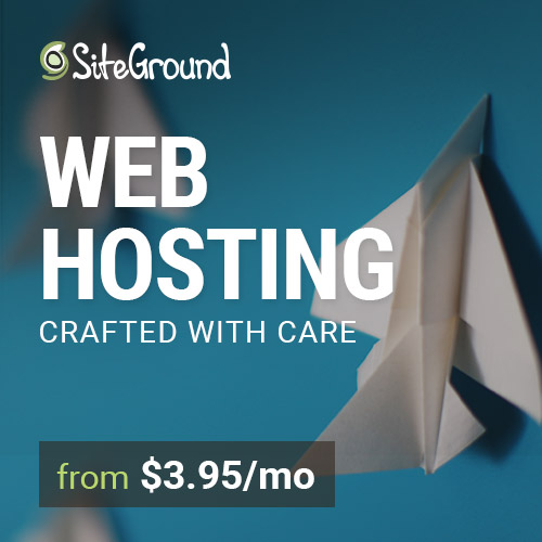 SiteGround Hosting for Artists
