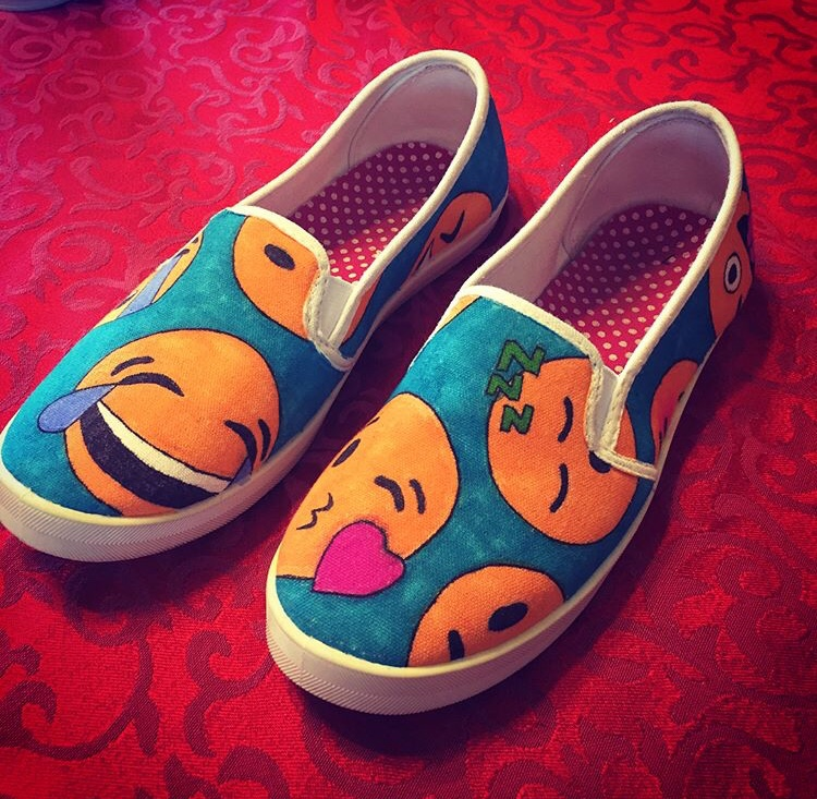 Custom Made Emoji Shoes