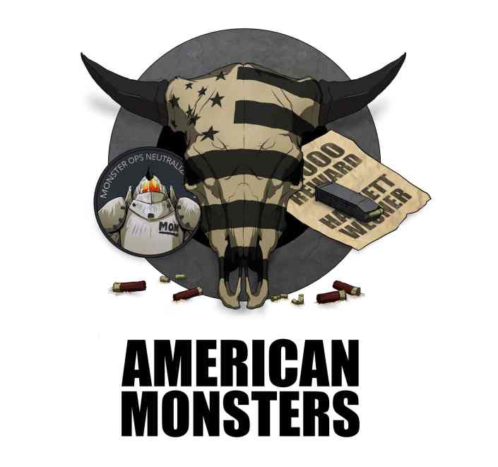 American Monsters Bull Logo