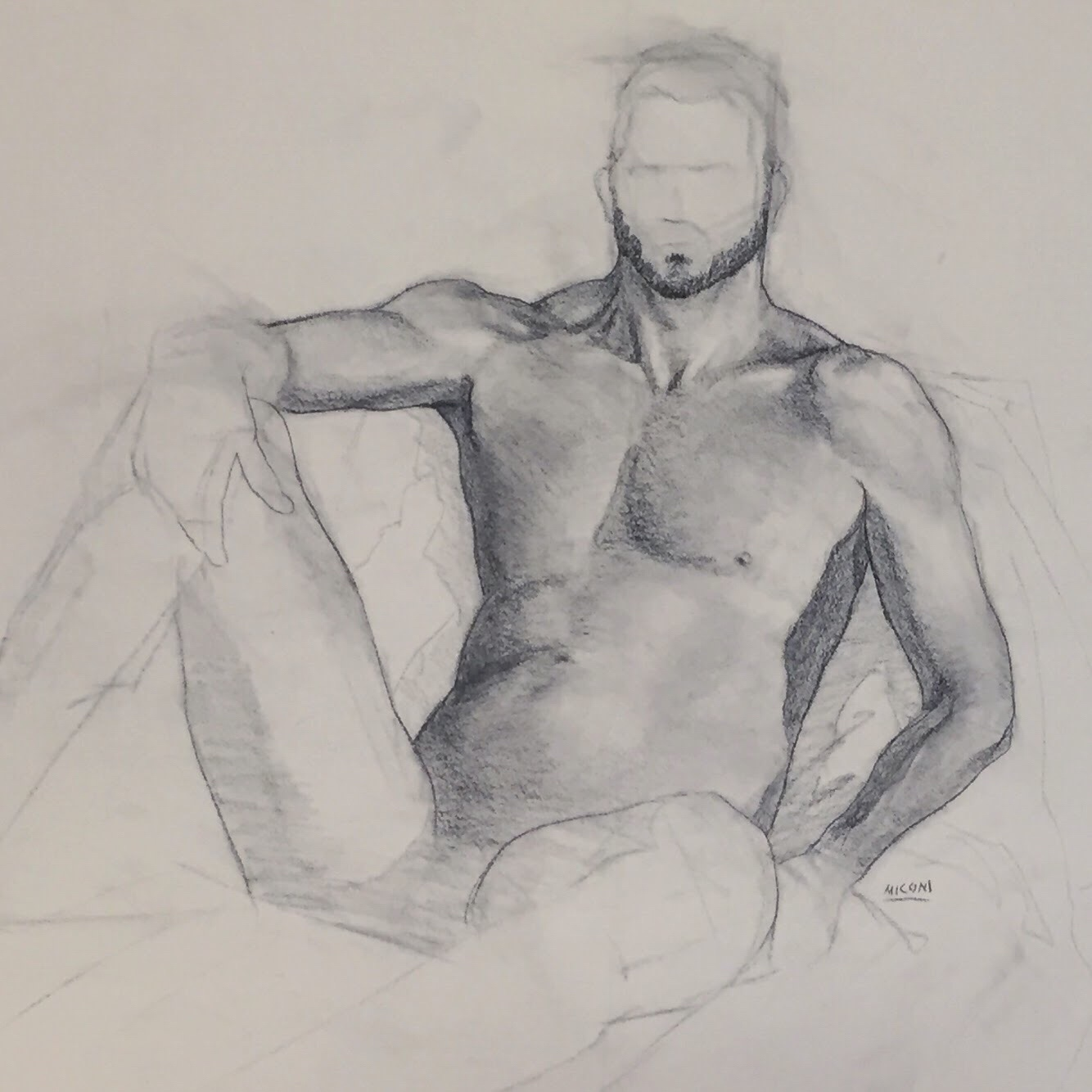 Figure Drawing Rendered