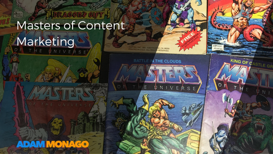 Masters of Content Marketing