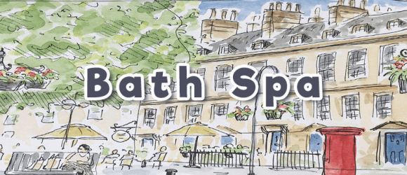 Bath Spa sketch