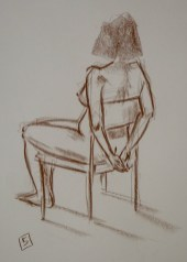 sepia life drawing 06