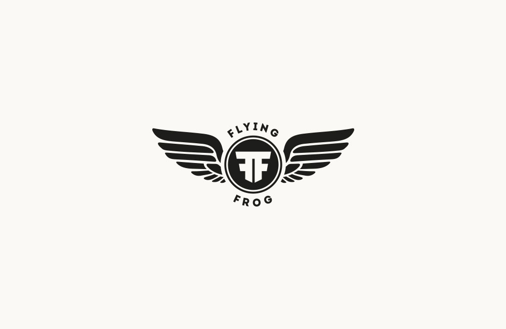 Maluku Flying Frog Logo