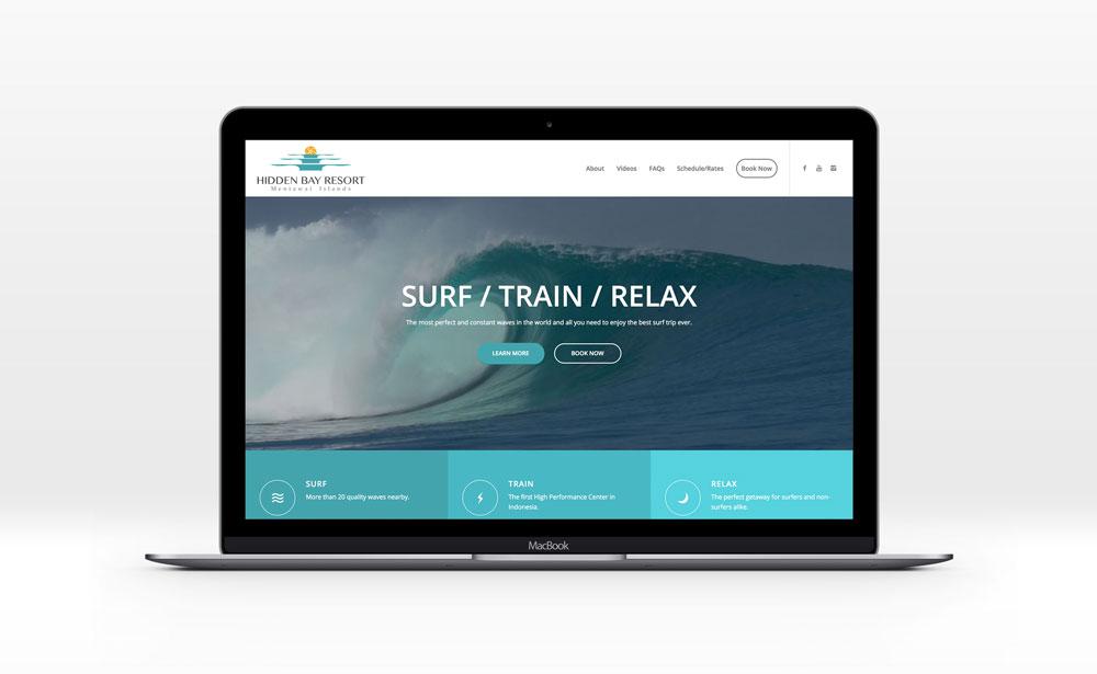 Hidden Bay Resort Website