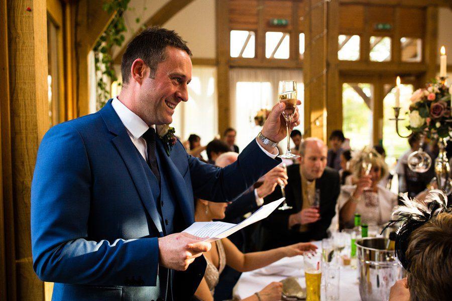 wedding speeches peover golf club