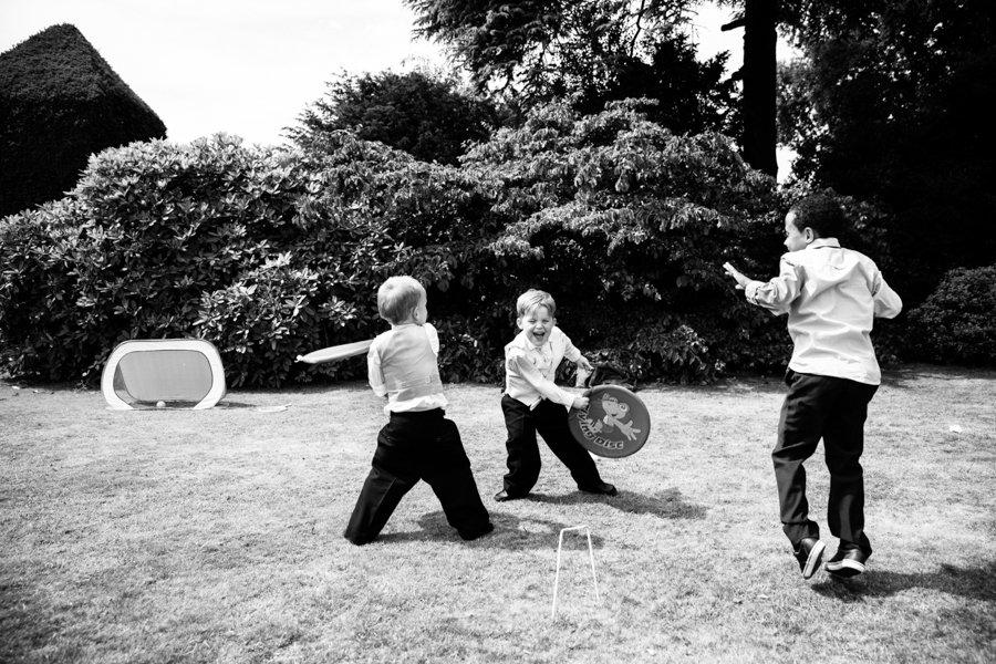 ball games at wedding reception