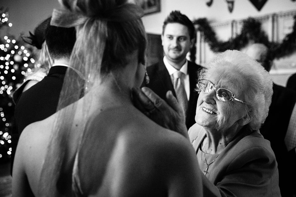 grandma wedding