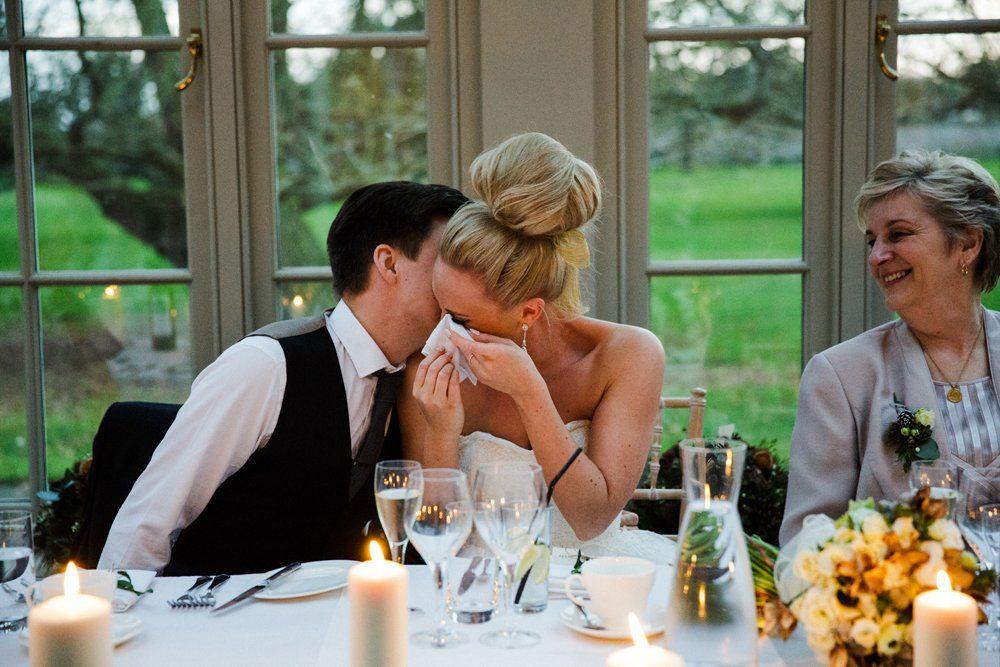 wedding speeche bride and groom