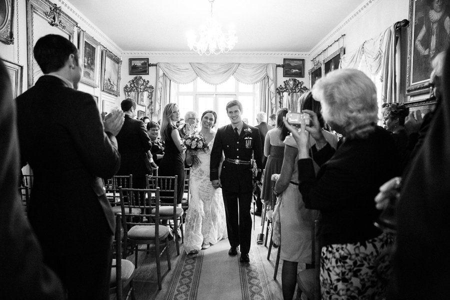 wedding ceremony maunsel house wedding