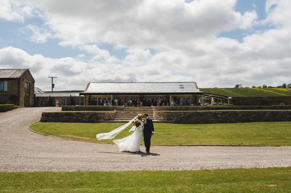Yorkshire wedding barn