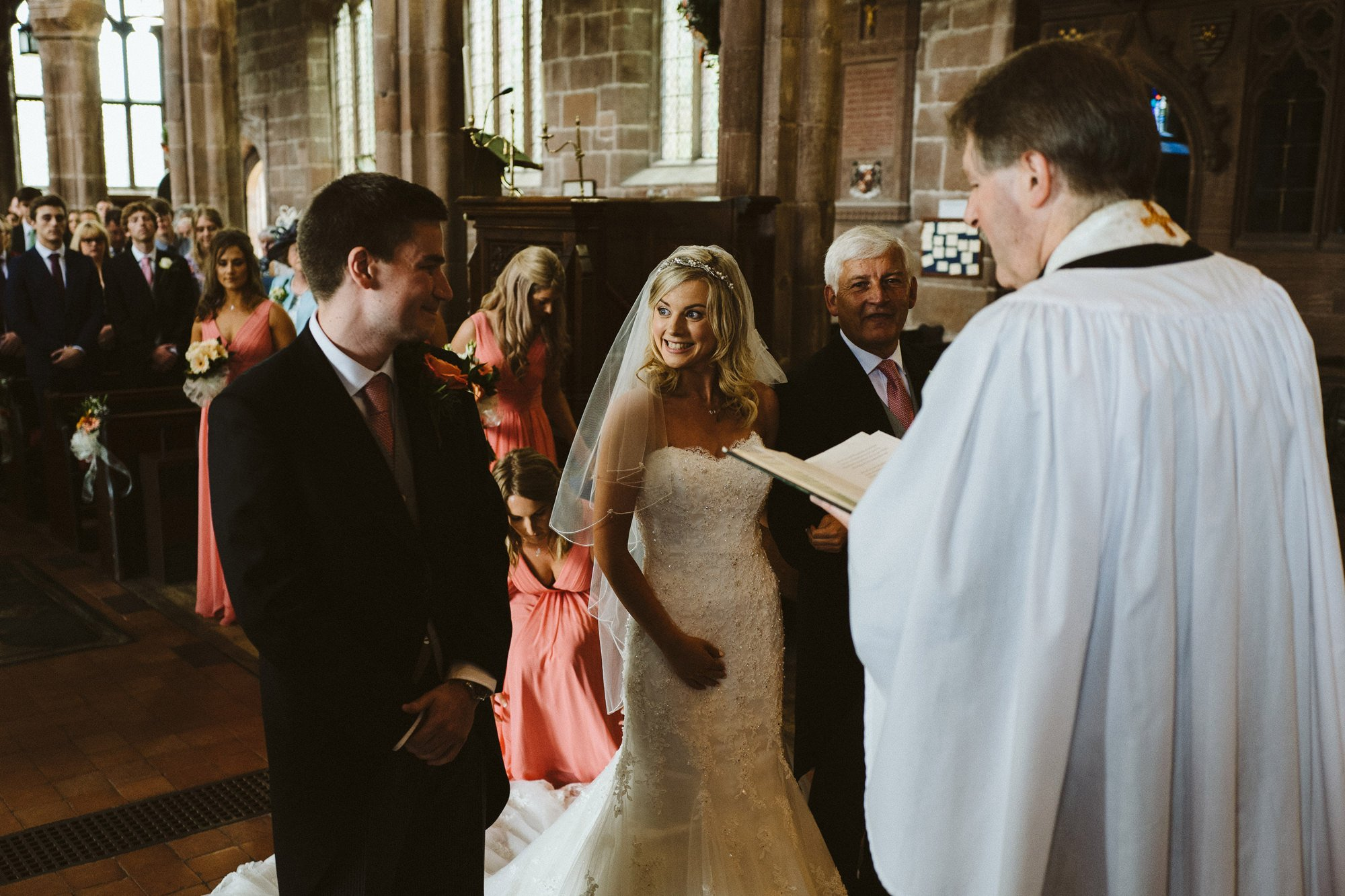 great budworth church wedding