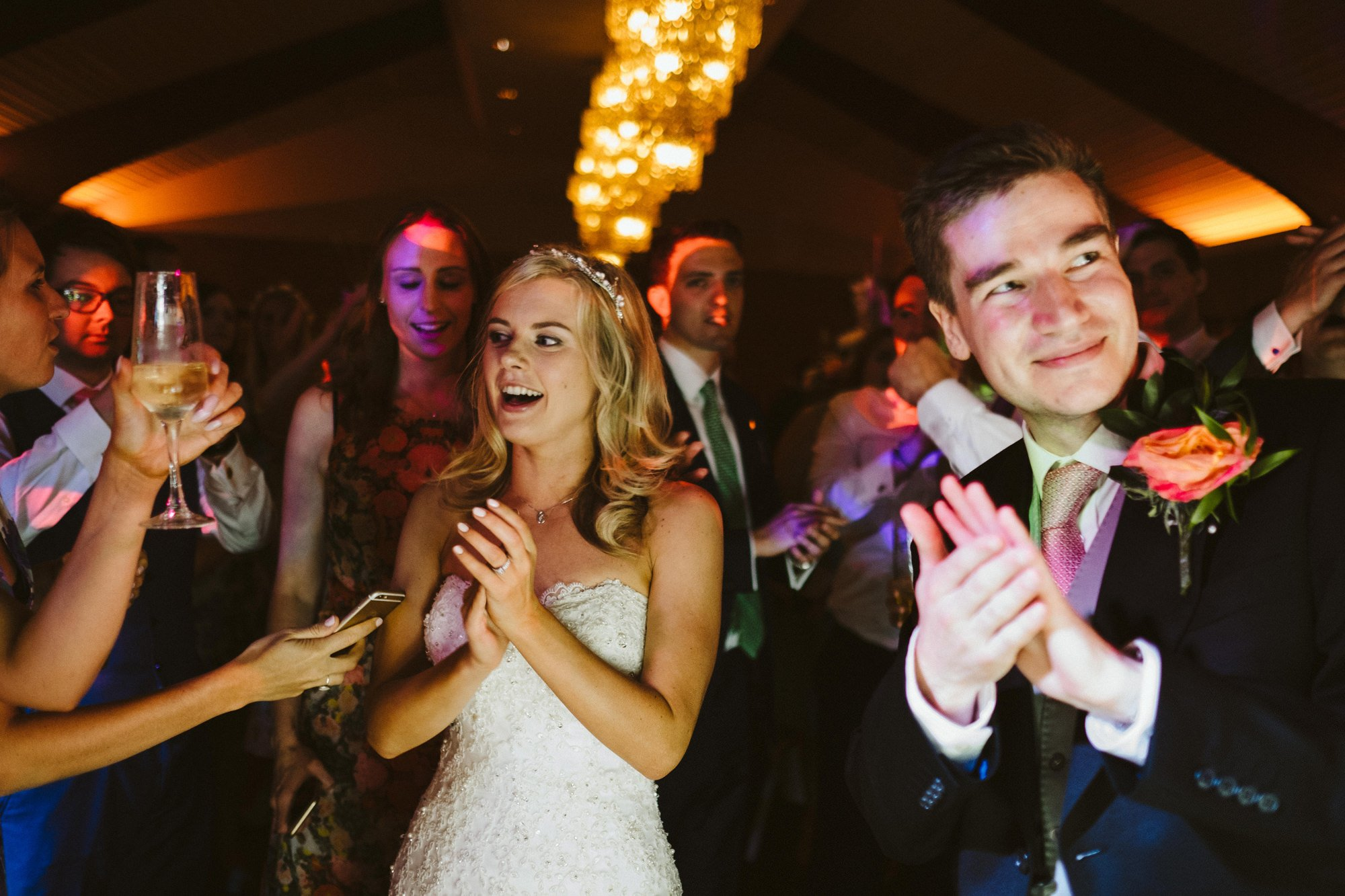 dancing colshaw hall wedding