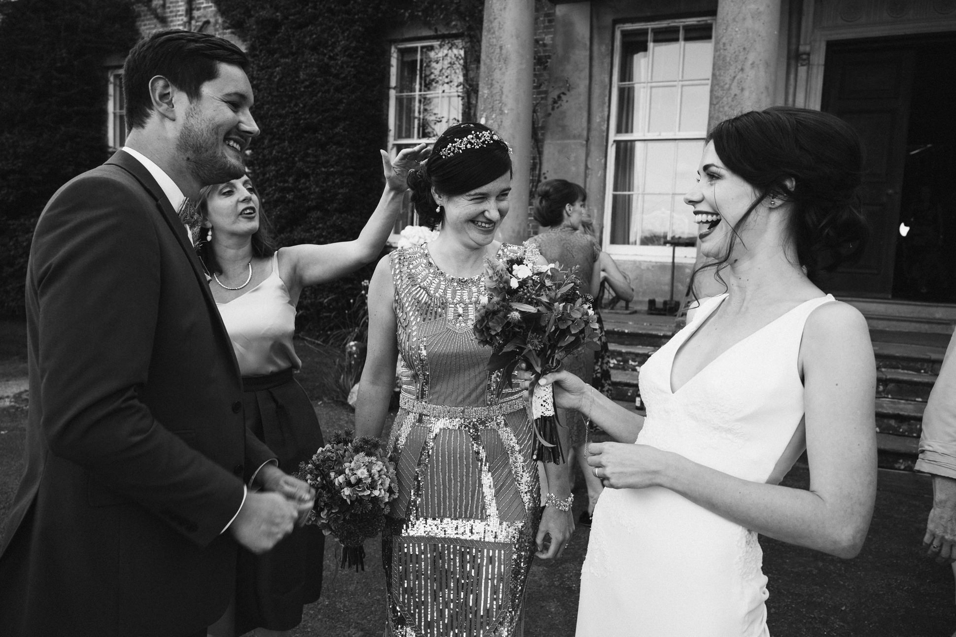 summer walcot hall wedding