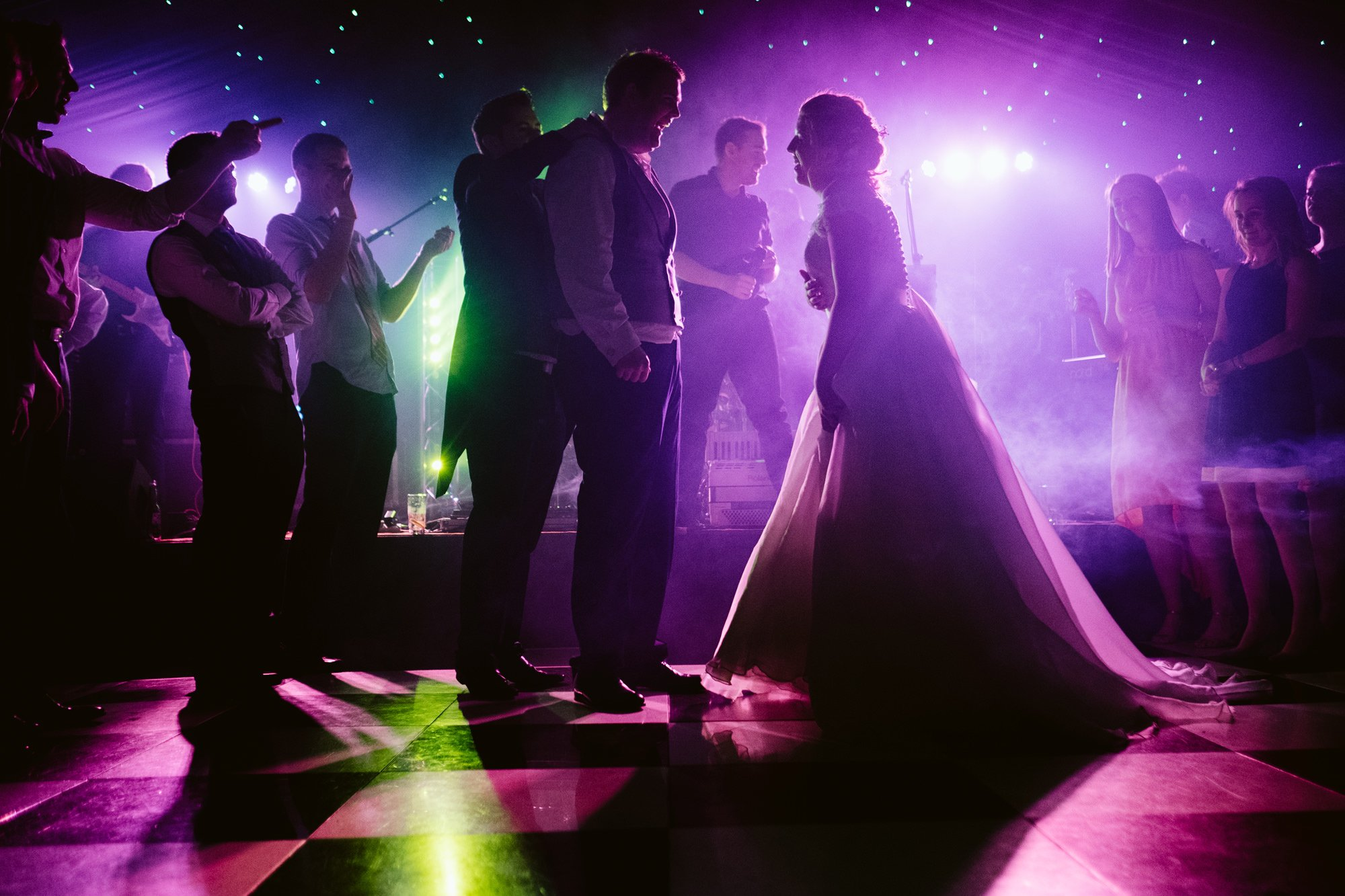 dancefloor wedding photographer