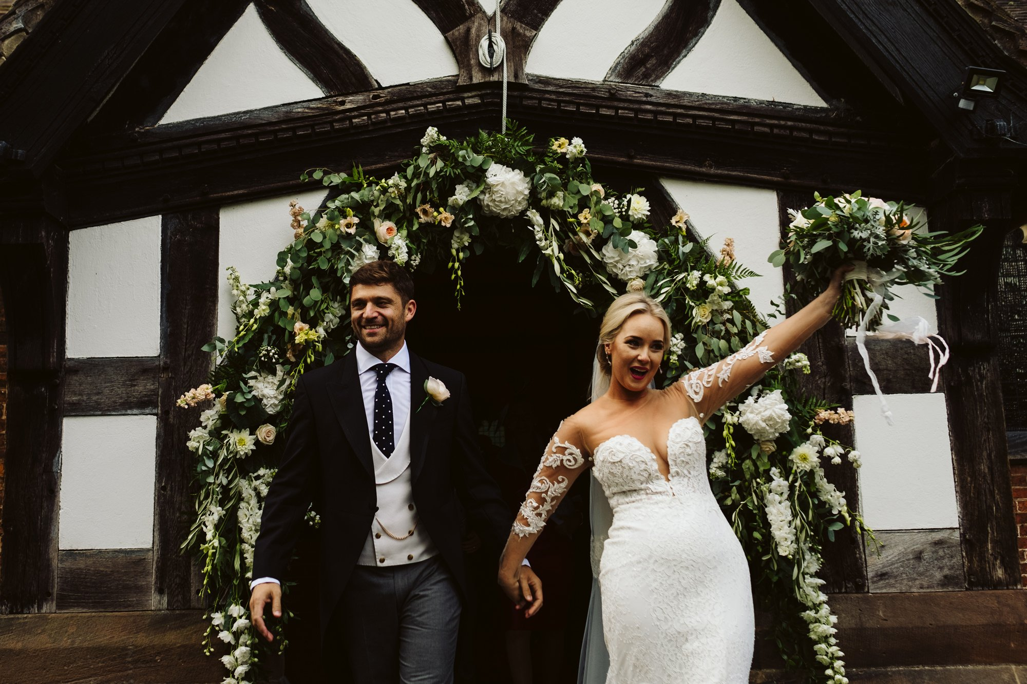home marquee wedding