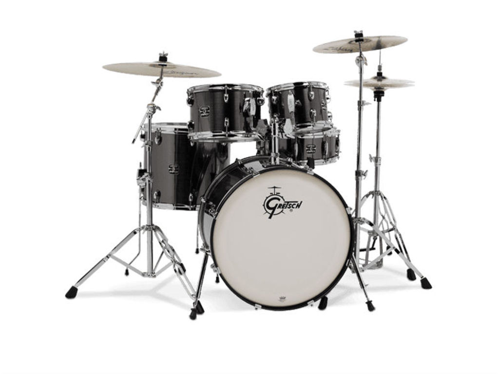 Drumset Gretsch Energy GEX E605 4  20   10   12   14   14   4 parts     Drumset Gretsch Energy GEX E605 4 BK Black  20   10