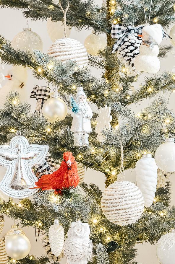 Sparse Christmas Tree Decorating.Christmas Tree 2018 Adams And Elm Home