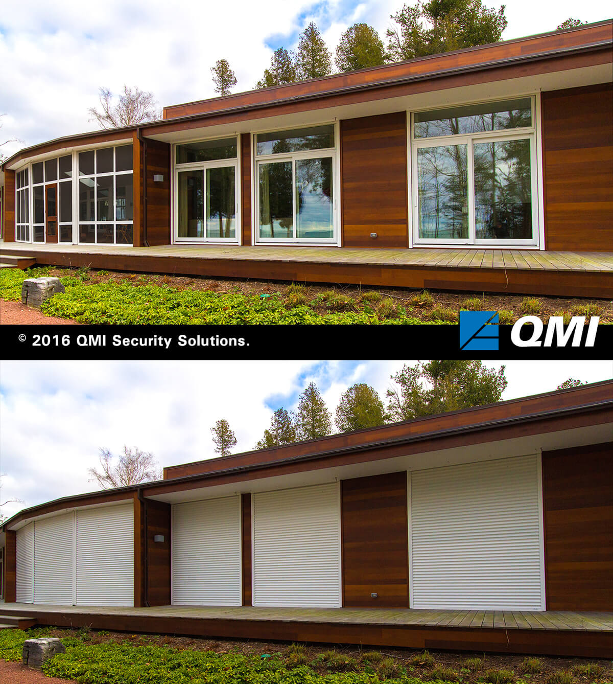 Residential Security Shutters Screens Qmi Homesafe