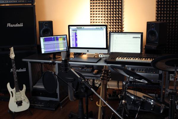 Adam Spade Home Recording Studio