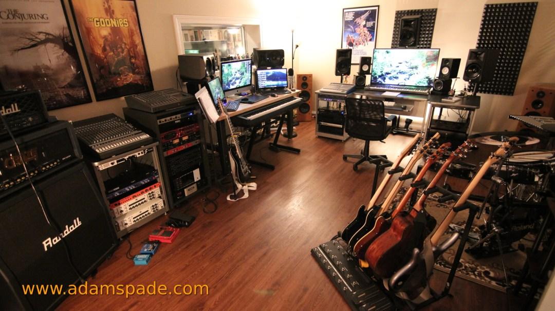 Composer, Adam Spade Recording Studio
