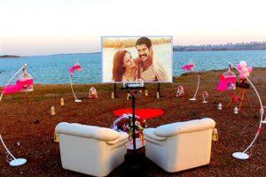 sinemada evlilik teklifi