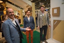 Alberto & Tom with Kevin McCloud