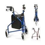 3 wheel walker rollator