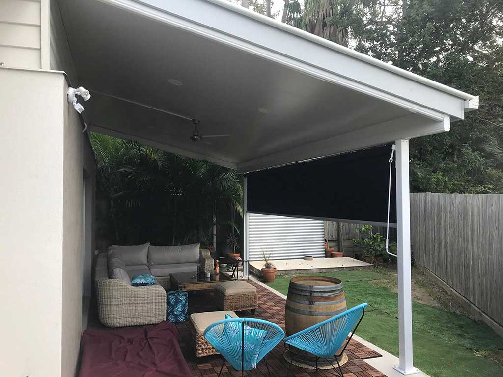 insulated patio roof