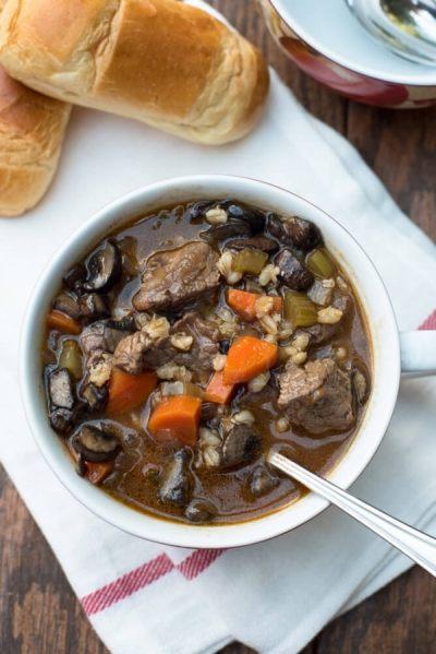 Barley Soup - Val's Kitchen