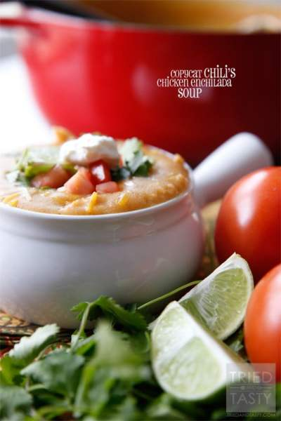 Chicken Enchilada - Tried and Tasty