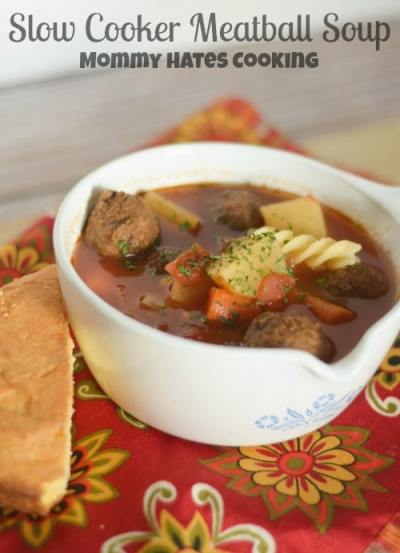 Slow Cooker Meatball - Mommy Hates