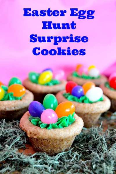 EASTER EGG HUNT SURPRISE COOKIES