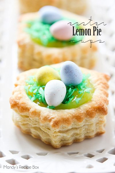 EASTER LEMON PIE CUPS