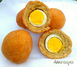 Nigerian egg rolls