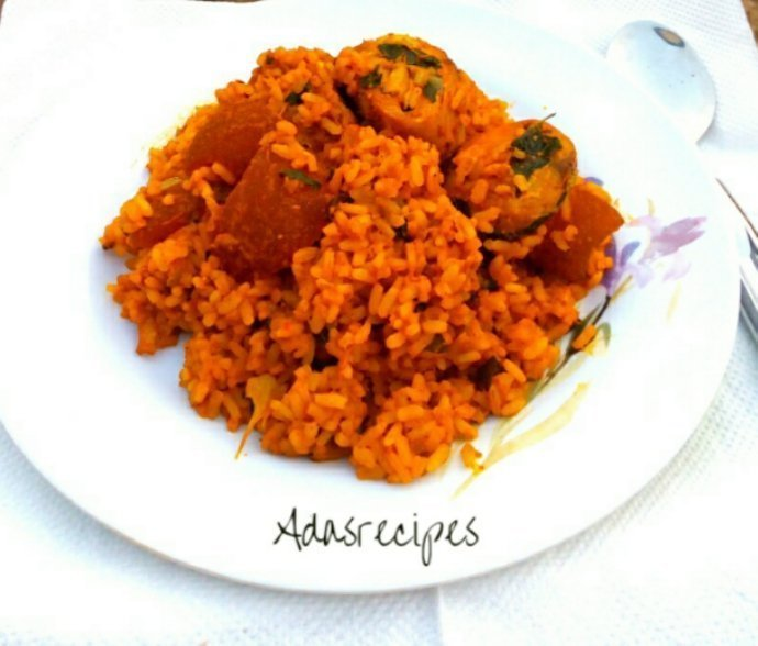 HOT SUPER NIGERIAN LOCAL JOLLOF RICE