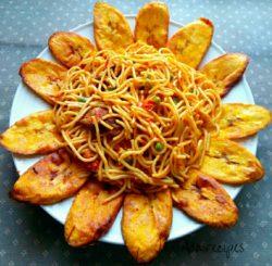 Delicious Jollof Spaghetti recipe (Pasta)