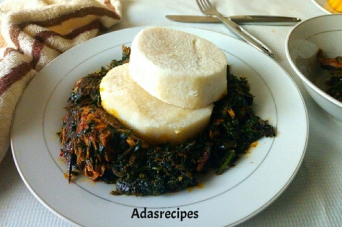 Budget friendly vegetable (Ugu leaves) Sauce