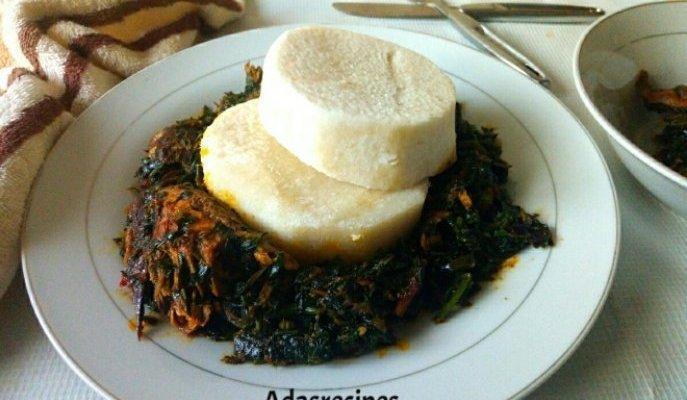 Budget friendly vegetable (Ugu leaves) Sauce