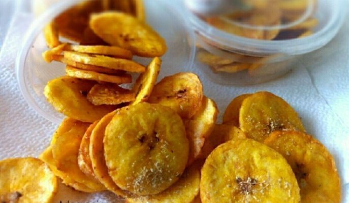 Homade Spicy Plantain Chips Recipe Everyone Loves
