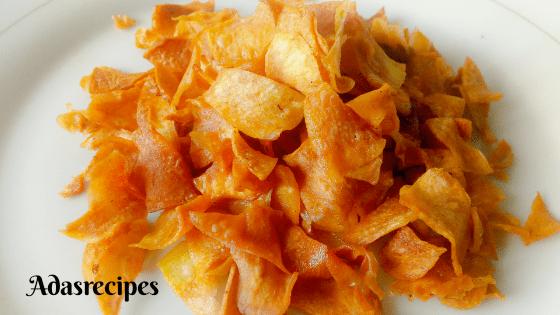 Make Crispy Sweet Potato Chips Recipe