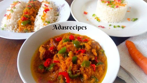 Carrot stew recipe