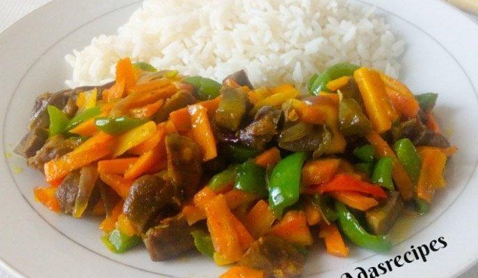 Carrot Stir-fry for Rice | Easy Recipe