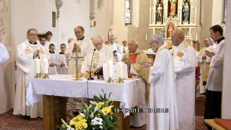 Koller Gyula pápai prelátus vasmiséje, Pozsonypüspöki
