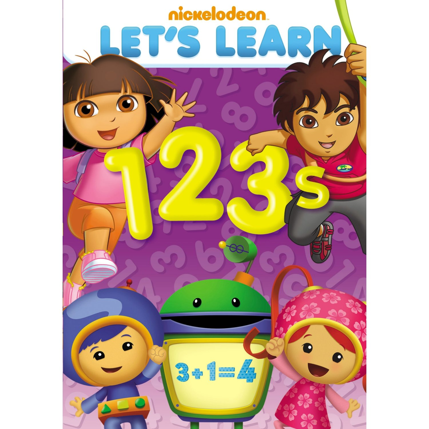 Nickelodeon S Let S Learn 123 S Dvd Review Amp Giveaway
